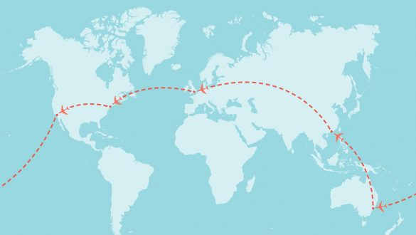How to book a round the world ticket