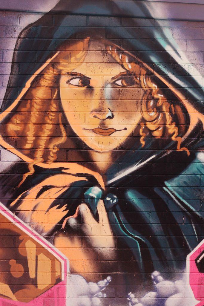 Camperdown street art, Sydney