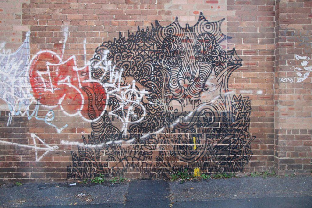 Enmore street art, Sydney