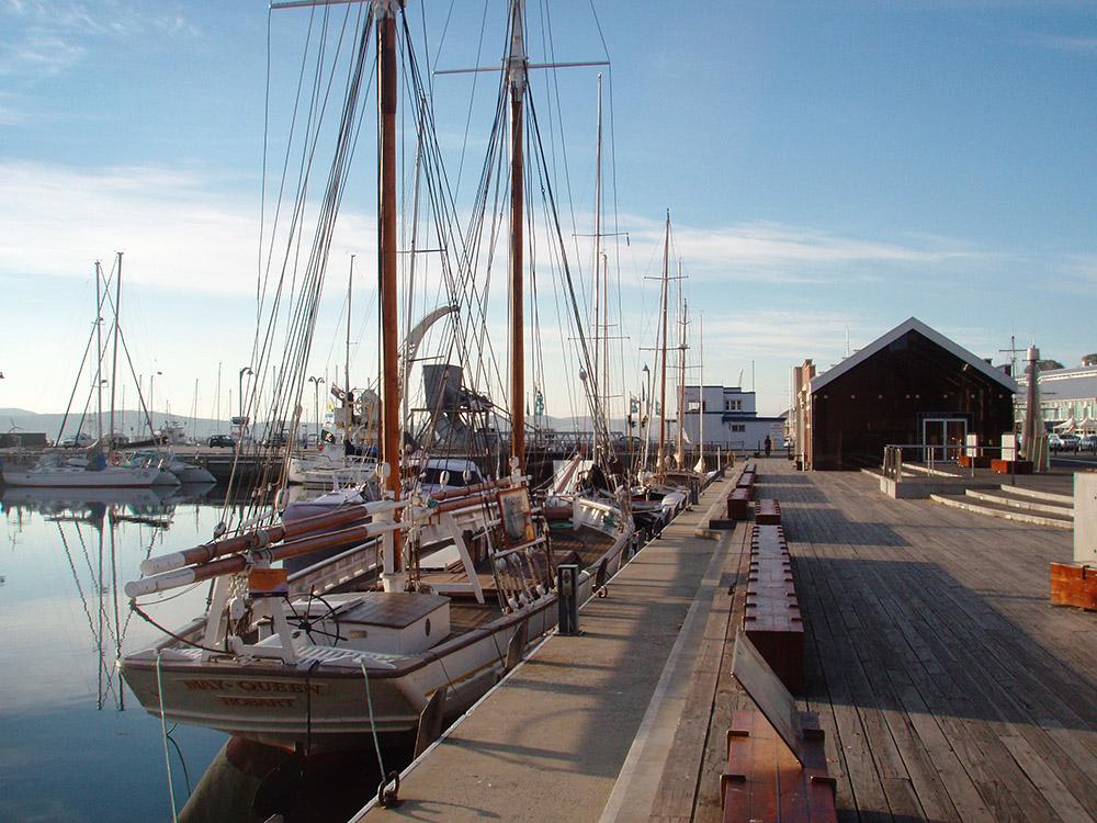 Franklin Wharf, Hobart, Tasmania