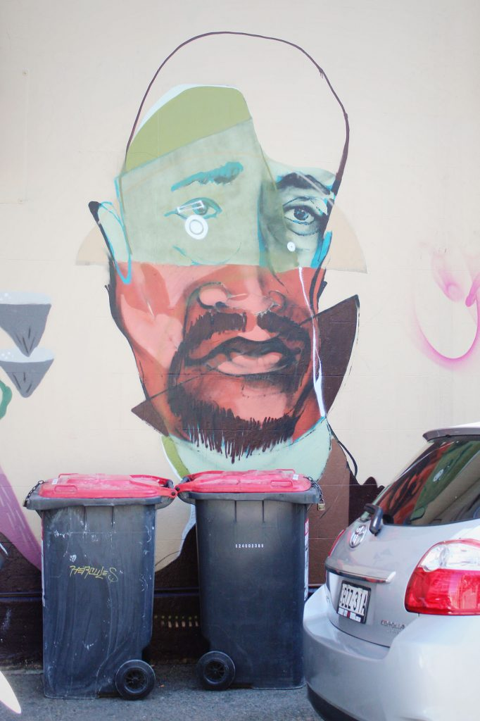 Newtown street art, Sydney