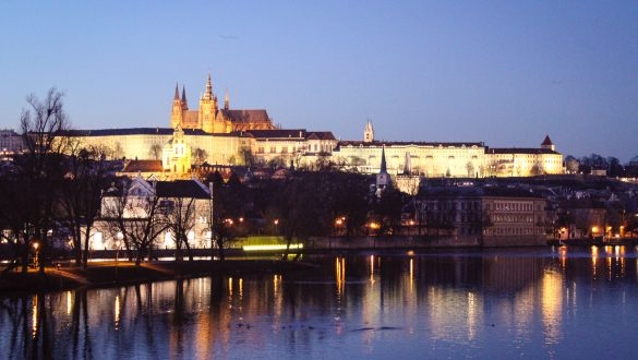 New Year celebrations in Prague