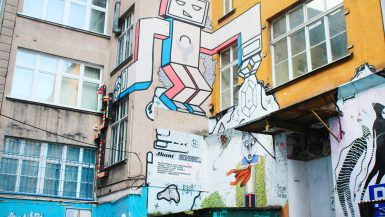 Finding Ruska Street Backyard: Wroclaw's secret alley of street art