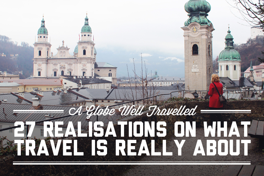27 realisations on what travel is really about