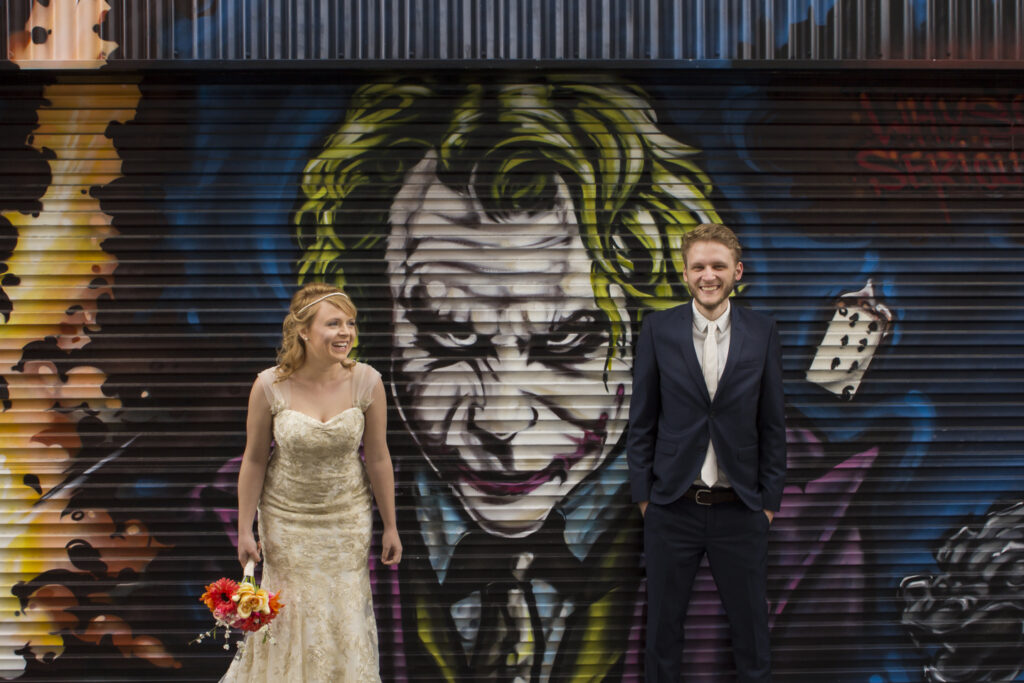 Our wedding in Hobart