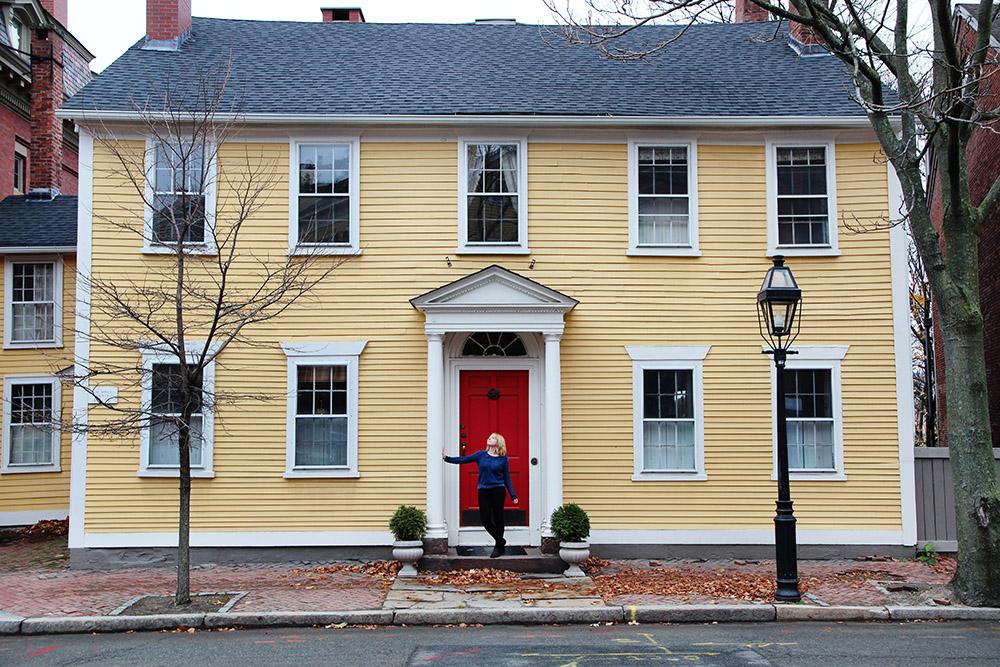 Benefit Street, Providence, Rhode Island