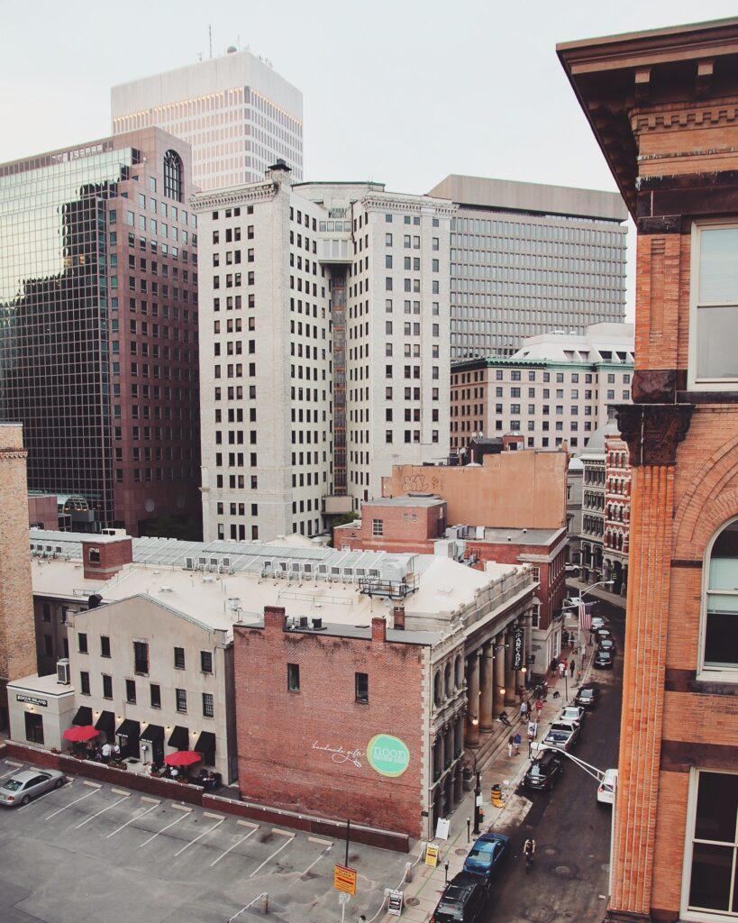 Downtown Providence, Rhode Island