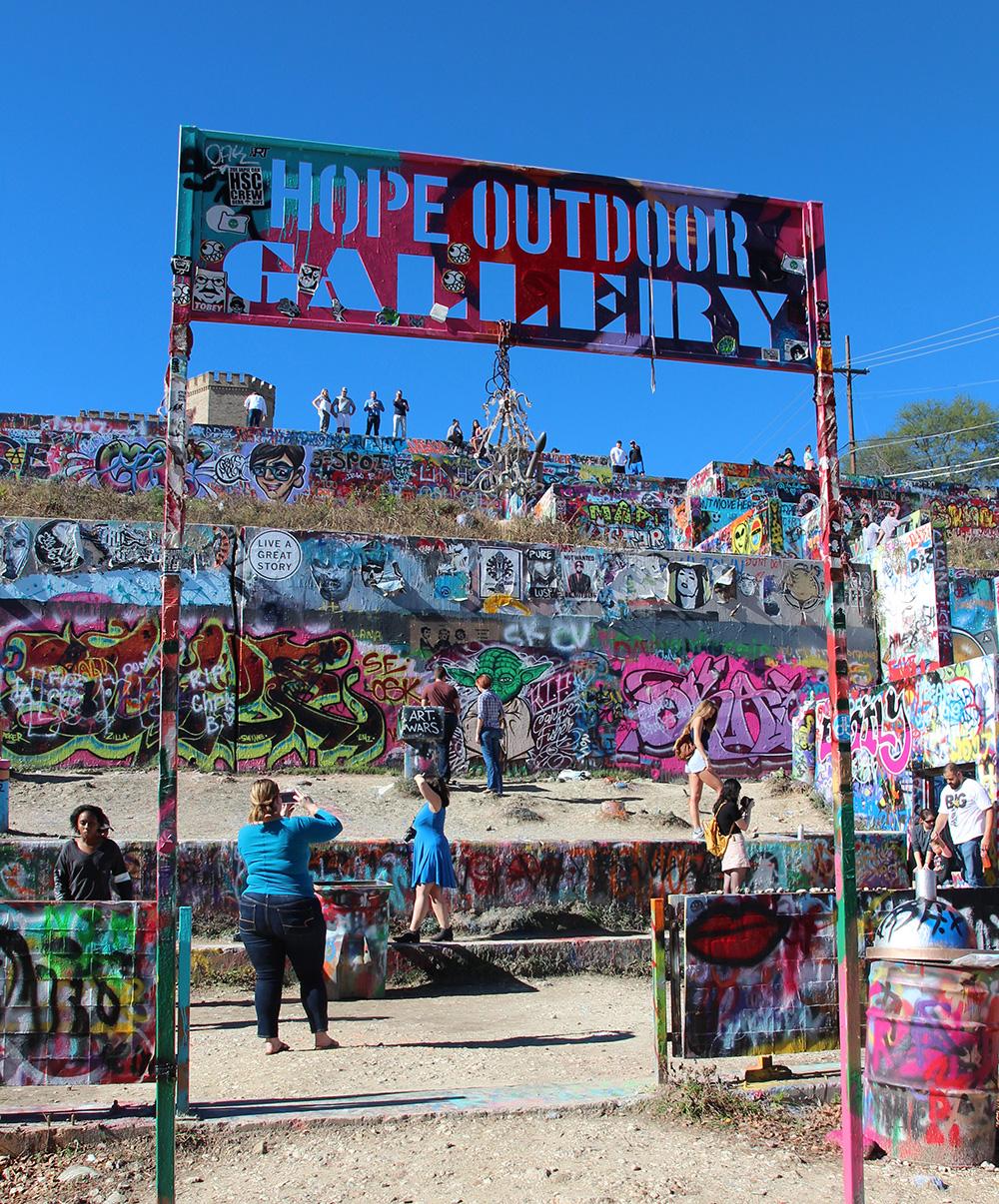 HOPE Outdoor Gallery, Austin
