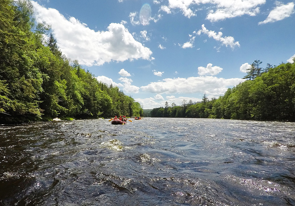 Whitewater Rafting, The Adirondacks