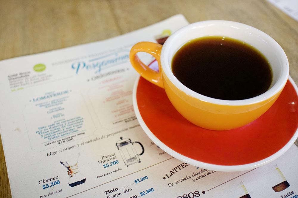 Coffee in Poblado, Medellin