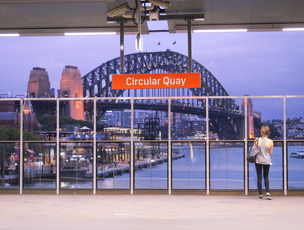 Circular Quay station, Sydney
