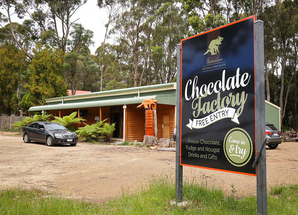 Chocolate Factory, Tasman Peninsula