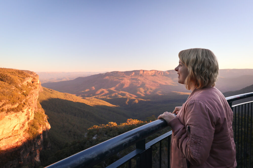 Wentworth Falls Lookout, Blue Mountains
