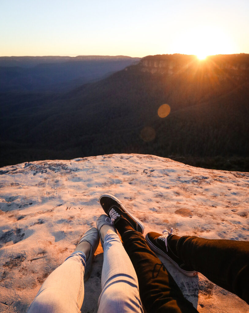 Sunset from Lincoln's Rock, Blue Mountains