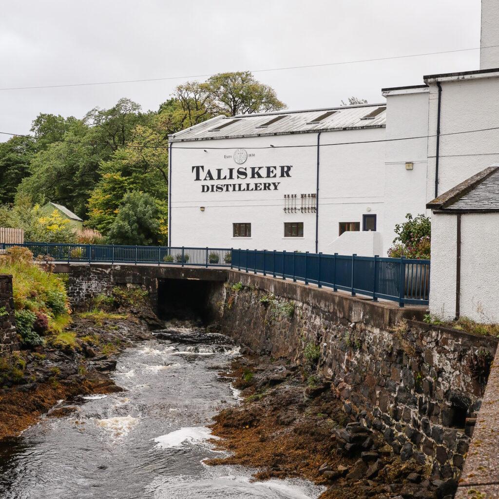 Talisker Distillery, Isle of Skye, Scotland