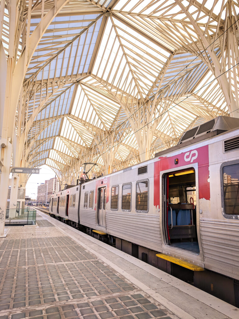 Oriente train station, Lisbon