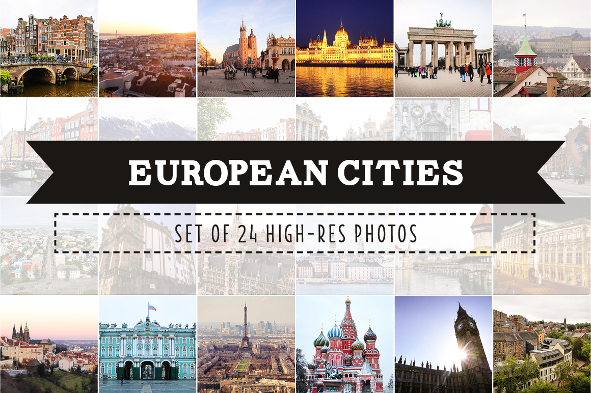 European Cities Photo Pack