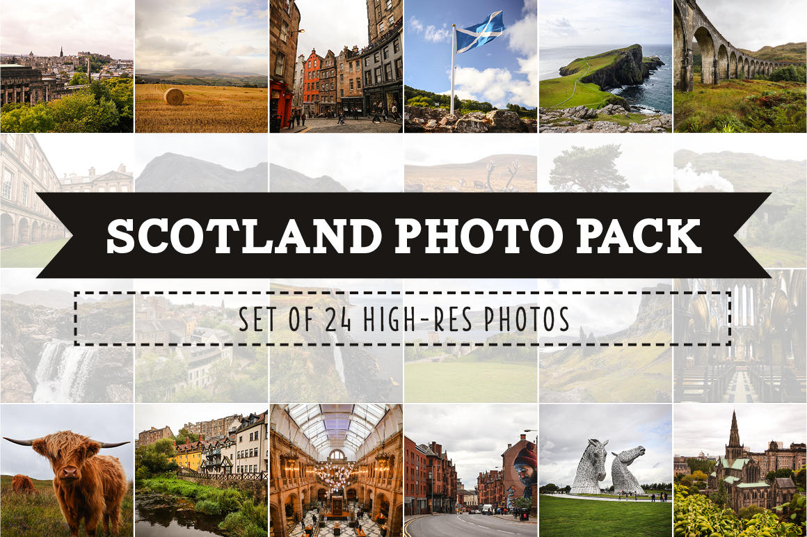Scotland Photo Pack