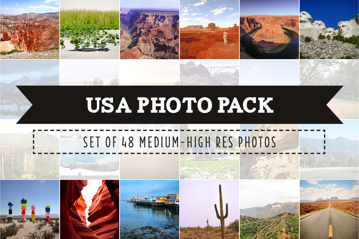 Ultimate USA Photo Pack