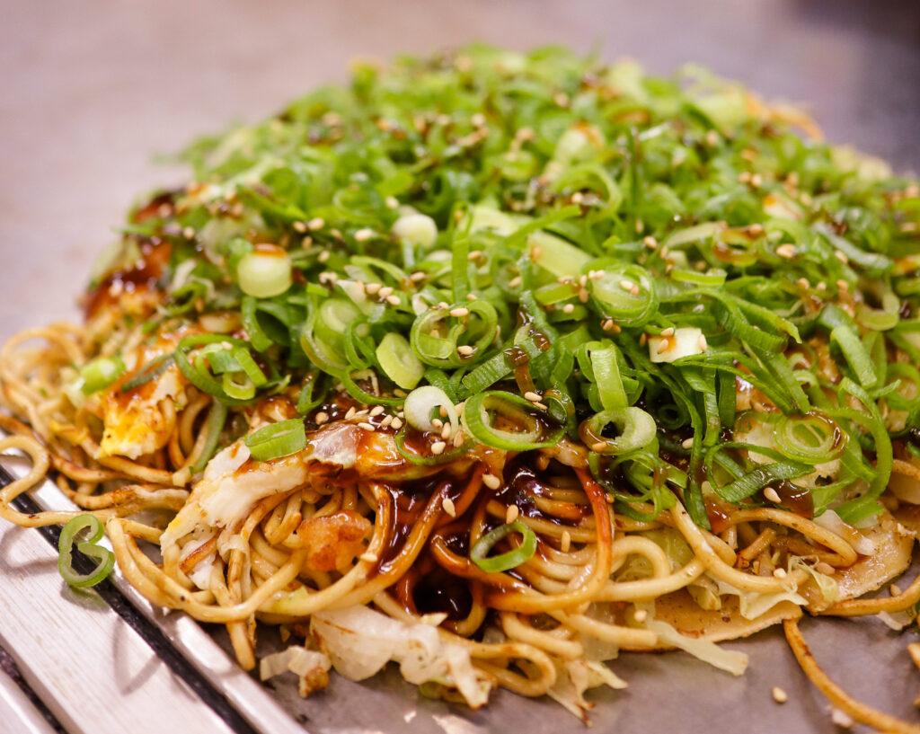 Okonomiyaki, Hiroshima, Japan