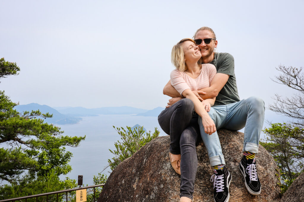 Rob and I in Miyajima, Japan, 2019