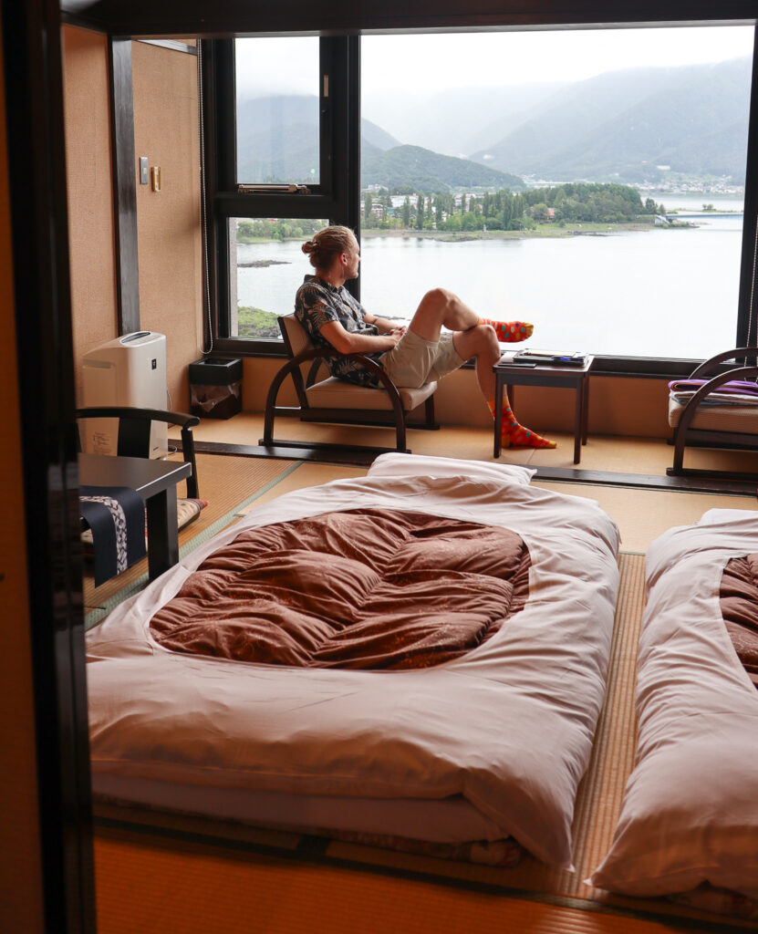 Tatami room, Mt Fuji, Japan