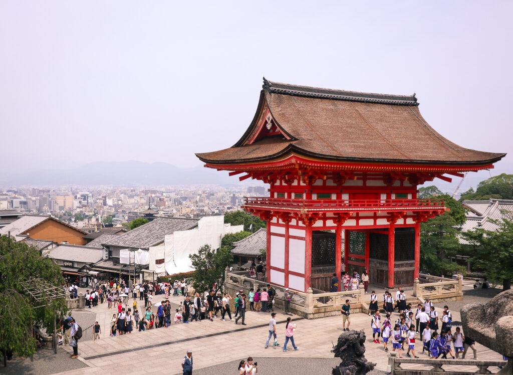 Kiyomizu-dera temple, Kyoto, Japan