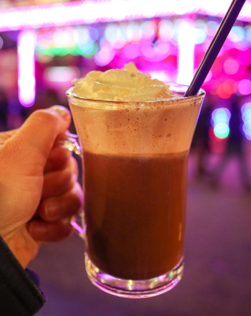 Heiße Schokolade (Hot Chocolate) at Germany's Christmas Markets