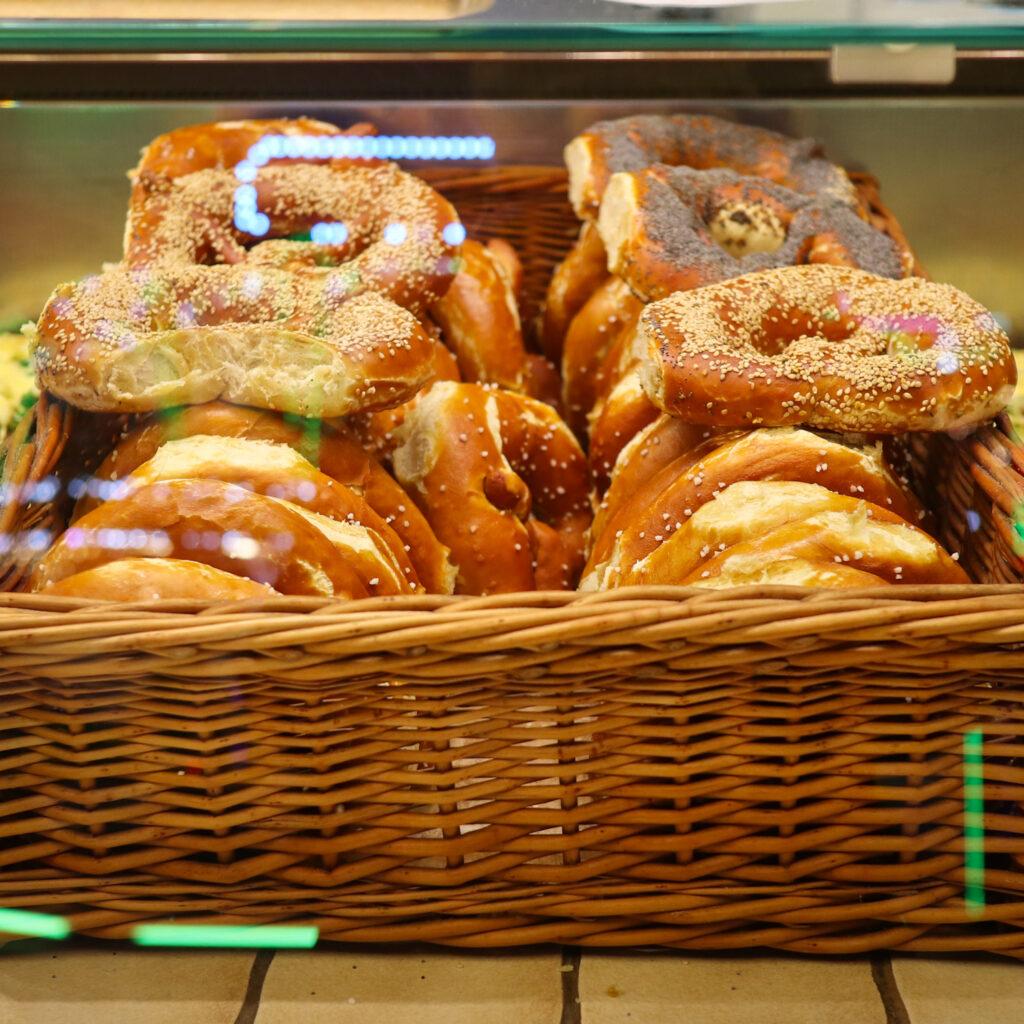 Pretzels at Germany's Christmas Markets