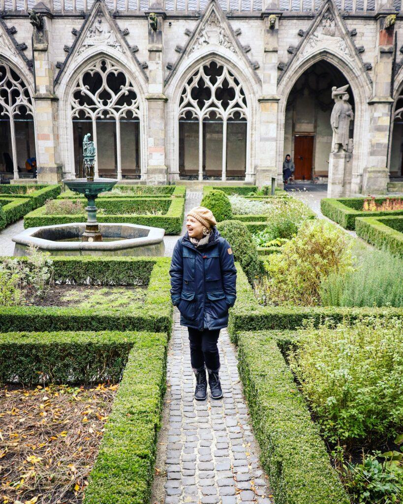 Pandhof Garden at the Dom Church in Utrecht