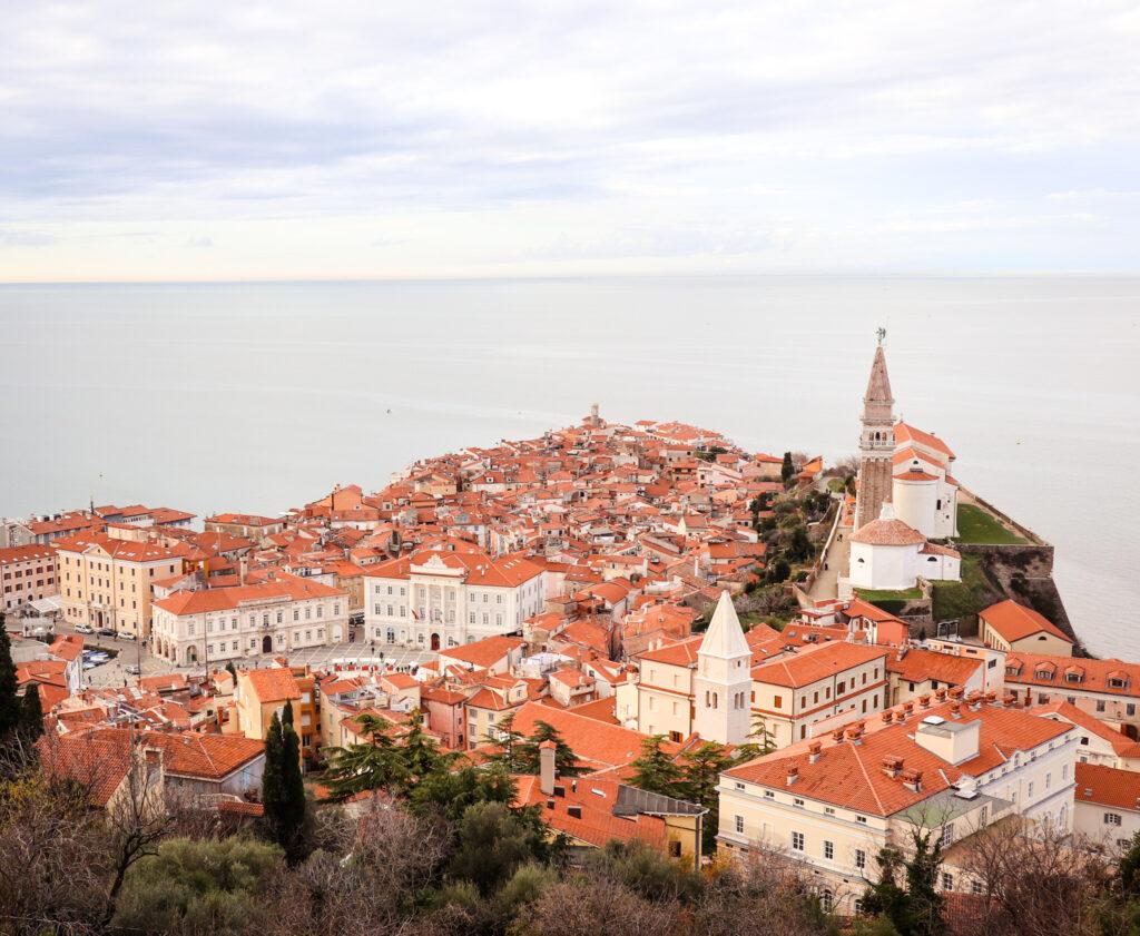 Views of Piran and the Adriatic Sea, Slovenia