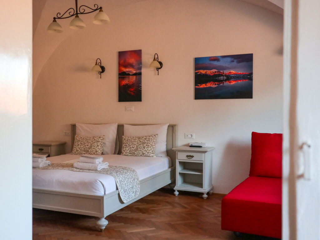 Barbo Palace hotel apartments in Ljubljana, Slovenia